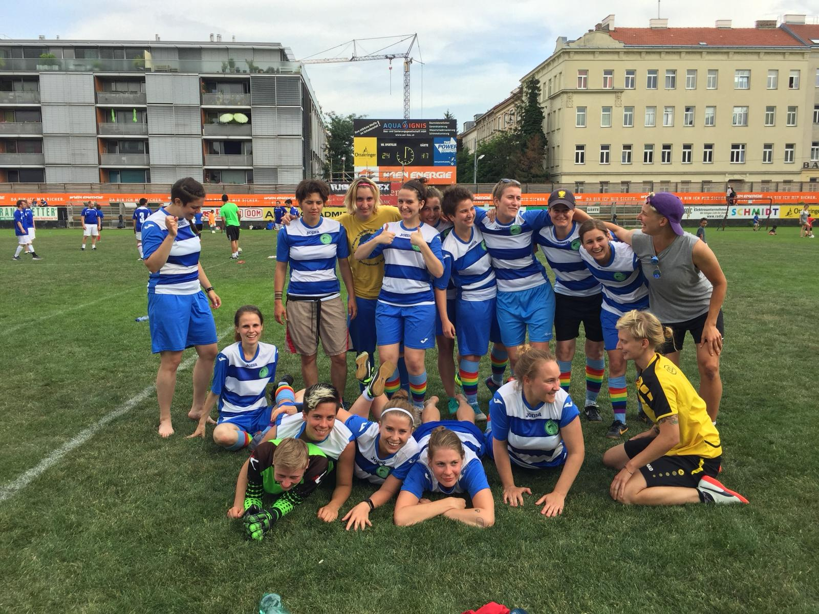 Dynama beim Ute Bock Cup 2018