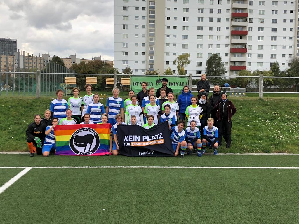 Gemeinsam gegen Homophobie! FARE Aktionswochen 2018